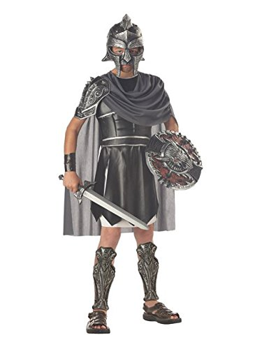 Roman Gladiator Costume for Boys, Multi-colored, (Gladiator Costume Boys)