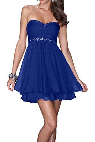 Cocktailkleider Kleider Kurzes Jugendweihe Mini Marie Abendkleider Blau Braut Damen Royal Brautjungfernkleider La f86TxqYw