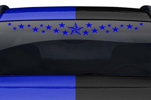 #103-01 STAR DUST NAUTICAL Windshield Decal Sticker Car