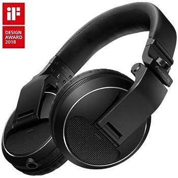Pioneer Pro DJ Black HDJ-X5-K Professional DJ Headphone