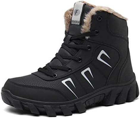 ワークブーツ 歩きやすい メンズ スノーブーツ 防滑 安定感 日常着用 通気性 軽量 クライミングシューズ 秋冬 レースアップ 革靴 ラウンドトゥブーツ ショートブーツ 走れる 裏起毛 ハイキングアーツ