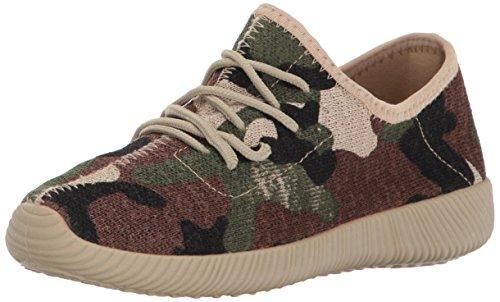 Qupid Women's NACARA-01 Sneaker, Khaki Camouflage, 8 M US