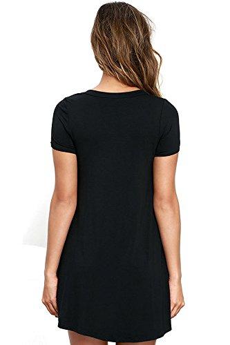 New Ladies Negro Lace Up Vestido De Swing Club Wear Evening Party Size M UK 10–�?2