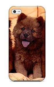 Defender Case With Nice Appearance (chow Chow Dog ) For Iphone 5c