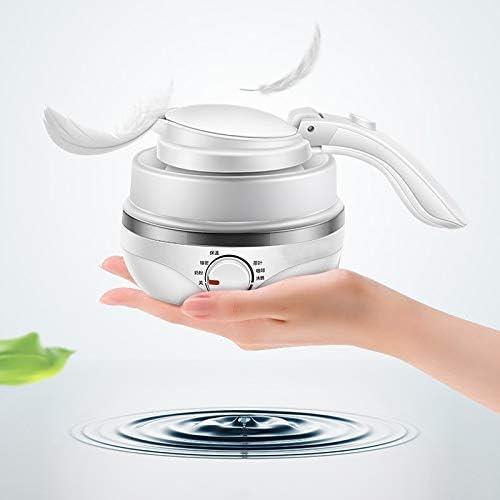 Opvouwbare siliconen waterkoker voor op reis Draagbare elektrische waterkoker
