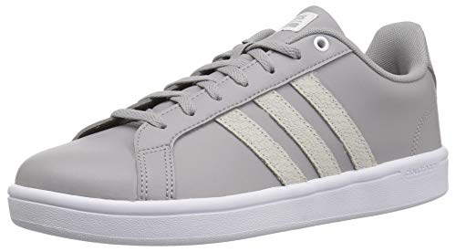 adidas Women's Cf Advantage Sneaker White/Light Granite, 9.5 M - Sneakers Leather Mesh