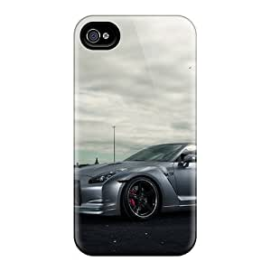 Iphone 4/4s Sws8730igRq Customized Beautiful Nissan Gtr Image Scratch Resistant Hard Phone Covers -DannyLCHEUNG