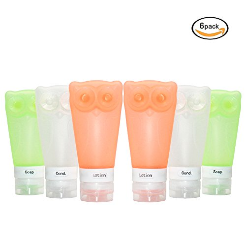 Zaker Portable Silicone Travel Bottles product image