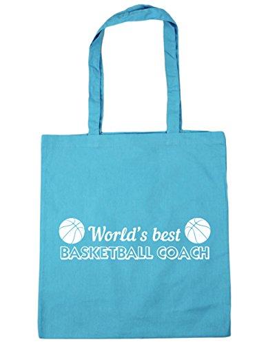 HippoWarehouse - Bolsa de playa de Algodón  Mujer azul (Surf Blue)