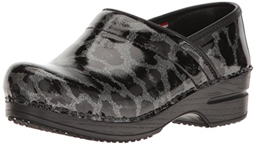 Sanita Womens Smart Step Professionale Sylvia Mule Grigio