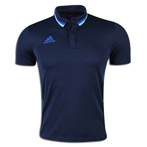 Adidas Condivo 16 Mens Soccer Polo XL Navy-Blue -