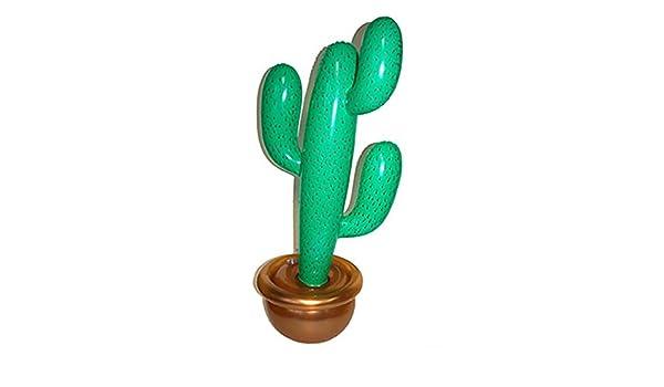 confettery - Party decoración Cactus hinchable Viva Mexico ...