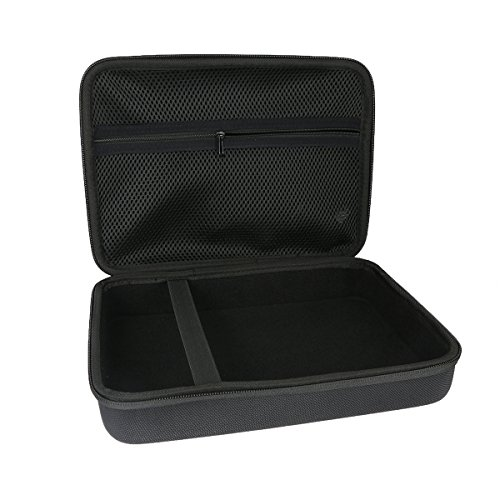 Khanka Hard Case for DBPOWER 9.5-Inch Portable DVD Player with Rechargeable Battery by Khanka