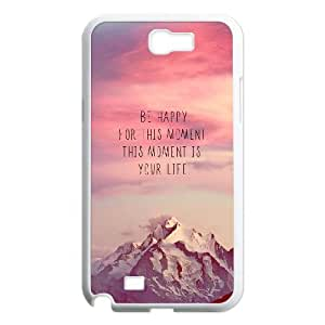 Samsung Galaxy Note 2 Cell Phone Case , Pure and fresh Theme Custom Phone Case