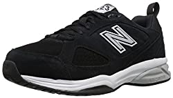 New Balance Men's Mx623v3 Training Shoe, Black, 13 D Us