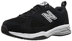 New Balance Men's Mx623v3 Training Shoe, Black, 13 D Us
