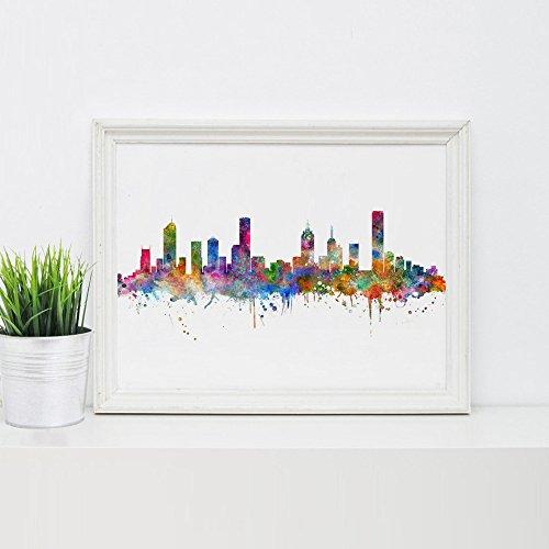 melbourne-skyline-art-print-painting-skyline-city-nursery-melbourne-wall-art-poster-inspirational-me