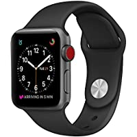 For Apple Watch Band, Durable Soft Silicone Replacement...
