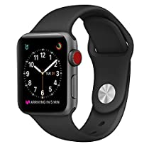 Apple Watch Band ,38mm Smooth Stainless Steel Strap Freely Fully Magnetic Closure Clasp Metal Strap Wrist Band Replacement Bracelet for IWatch Band Series 3 Series 2 Series 1