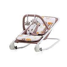 Chipolino Transat pour Bébé Baby Boo Cappuccino