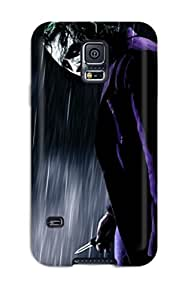 Galaxy S5 Hard Back With Bumper Silicone Gel Tpu Case Cover The Joker