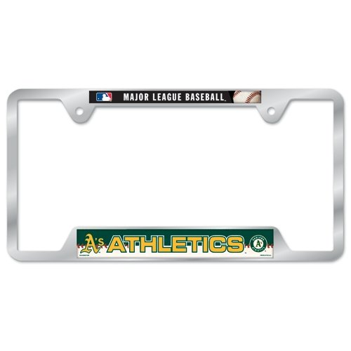 MLB Oakland A's Metal License Plate -