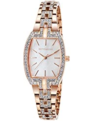 Wittnauer Rose Gold Tone Crystal Watch WN4018