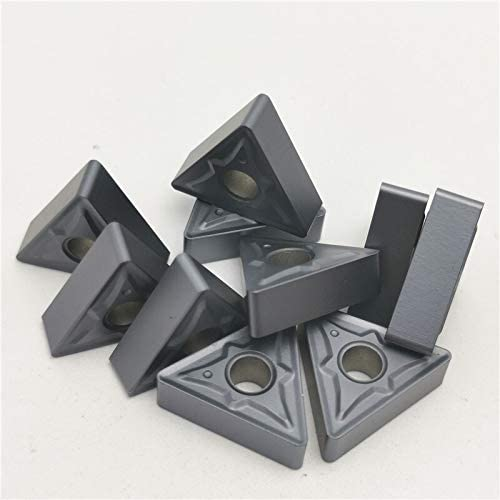 10 Stück TNMG160408 / 160404R NN LT10 Externe Drehwerkzeug Hartmetalleinsatz CNC Klinge (Größe : TNMG160408 NN LT10)