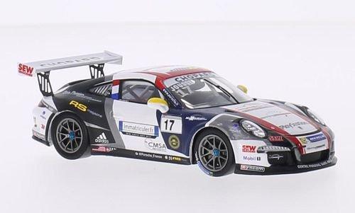 Porsche 911 (991) GT3 Cup, No.17, Sebastien Loeb Racing, Porsche Carrera Cup France, 2015, Modellauto, Fertigmodell, Spark 1:43