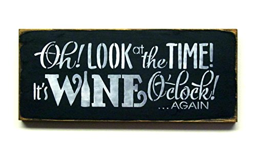 Wine Sign ~ Funny Wine Saying ~ Gift for Mom ~ Kitchen Decor