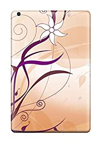 Quality ButterflyValley Case Cover With Flower Nice Appearance Compatible With Ipad Mini/mini 2