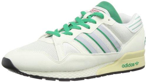 adidas Originals Mens ZX 710 Trainers White Vapour/Neo White/Fresh Green F0dUL7Vq