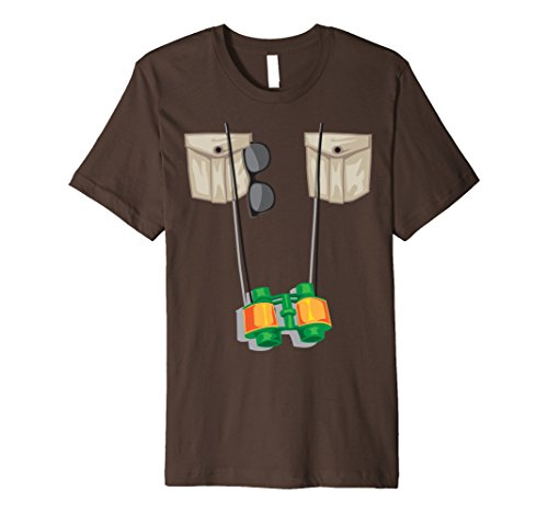 Mens Zoo Keeper Halloween Costume - Jungle Safari Explorer Gift Large Brown