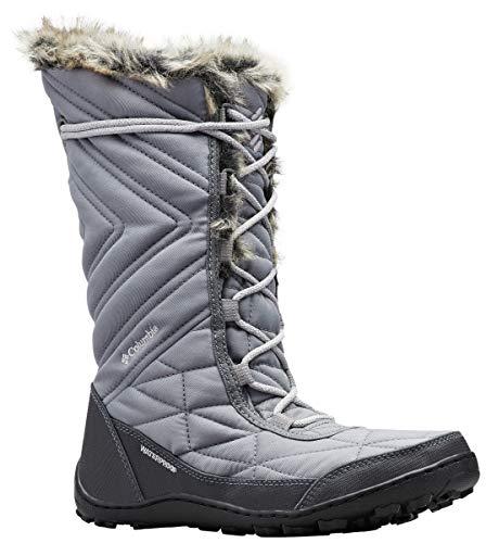 Columbia Women's Minx III Mid Calf Boot, ti Steel, Grey ice, 6 Regular US