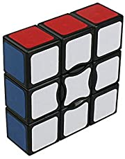 Wings of wind - Smooth and Speed 1x3x3 Magic Cube Sticker Puzzle Cube (2.24 x 2.24 x 0.75 inches) (Black)