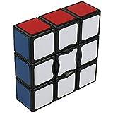 I-xun® Smooth Plastics 1X1X3 Speed Cube Sticker Magic Cube (Black)