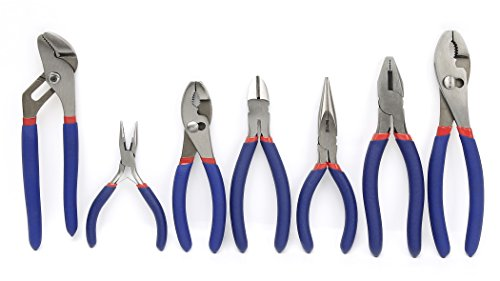 WORKPRO 7 piece Pliers Groove Linesman product image