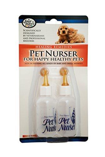 Pet Nurser Bottles Kit, 2.2 oz, 2 Pk by Four Paws