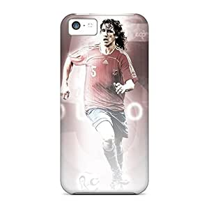linJUN FENGBrand New 5c Defender Case For Iphone (the Best Defender Football Player Barcelona Carles Puyol)