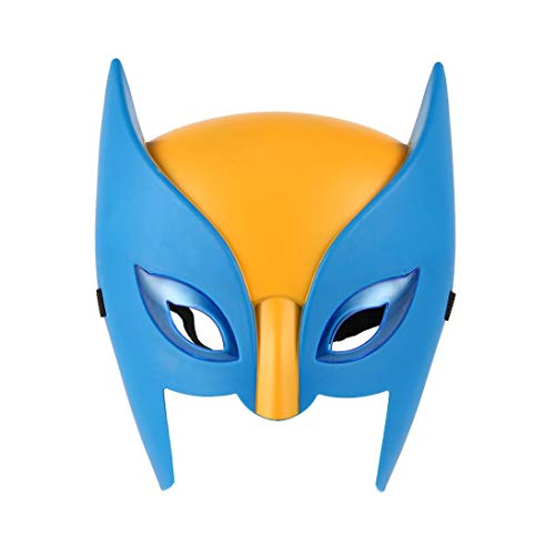 Baynne Children Mask Performance Property Superhero Mask Funny Hot Toy Party Halloween Mask Cosplay For Children With Light]()