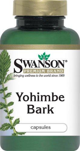 Premium Yohimbe Bark caps Swanson