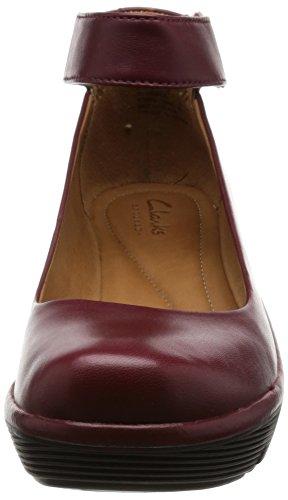 RojoMarca Bailarina ClarksModelo Para MujerColor Zapatos N08Oywvnm