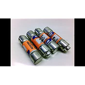 Image of Ferraz Shawmut Atdr6 - Pack Of 4 - Time Delay 6A Fuse Atdr6 - Pack Of 4 - Class Cc Cartridge Fuses