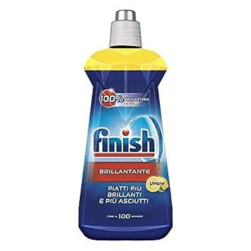 FINISH Brillantante lavasto.limone 400 ml. - Detergente para ...