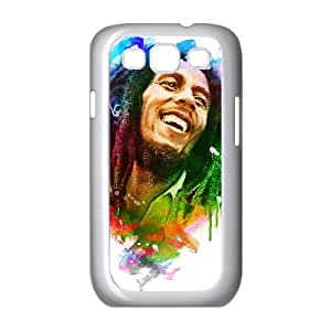 Samsung Galaxy S3 9300 Cell Phone Case White Bob Marley qgc