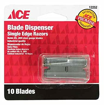 Ace Single Edge Blade Industrial Quality No. 9