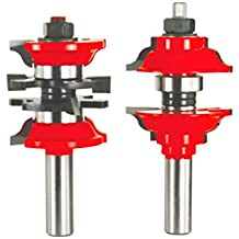 """Freud 1-7/8"""" (Dia.) Entry & Interior Door Router Bit System with 1/2"""" Shank (99-268)"""