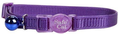 Nylon Adjustable Breakaway Collar - Coastal Pet Safe Cat Adjustable Snag-Proof Nylon Breakaway Collar | Girth Adjust 8