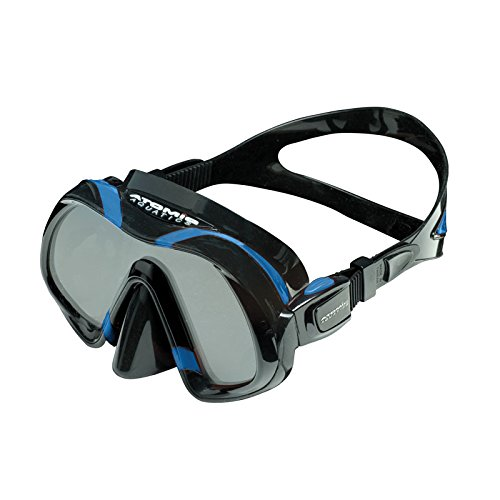 Atomic Venom Ultra Clear Ultra Wide Panoramic View Scuba Diving Mask, Blue by Atomic Aquatics (Image #1)