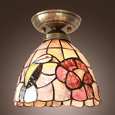Nature inspired lighting Diy Hh Rustic Natureinspired Ceiling Lamp With Colourful Flower 220240v Amazon Uk Hh Rustic Natureinspired Ceiling Lamp With Colourful Flower 220
